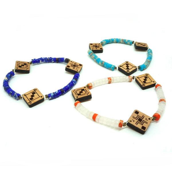 trio bracelets berbères pour femmes